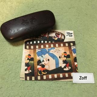 ゾフ(Zoff)の【Zoff】メガネケース【Disney】(サングラス/メガネ)