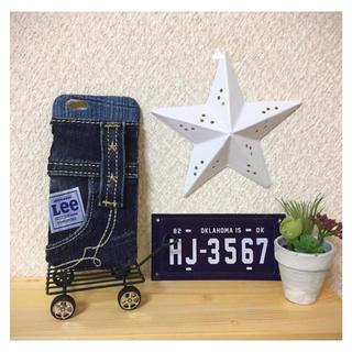 リー(Lee)のハンドメイド♥iPhone6.6sケース(スマホケース)