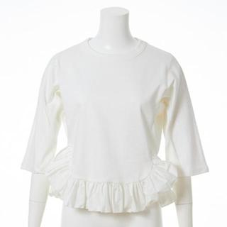 ファーファー(fur fur)のFURFUR 裾フリルプルオーバー(Tシャツ(長袖/七分))