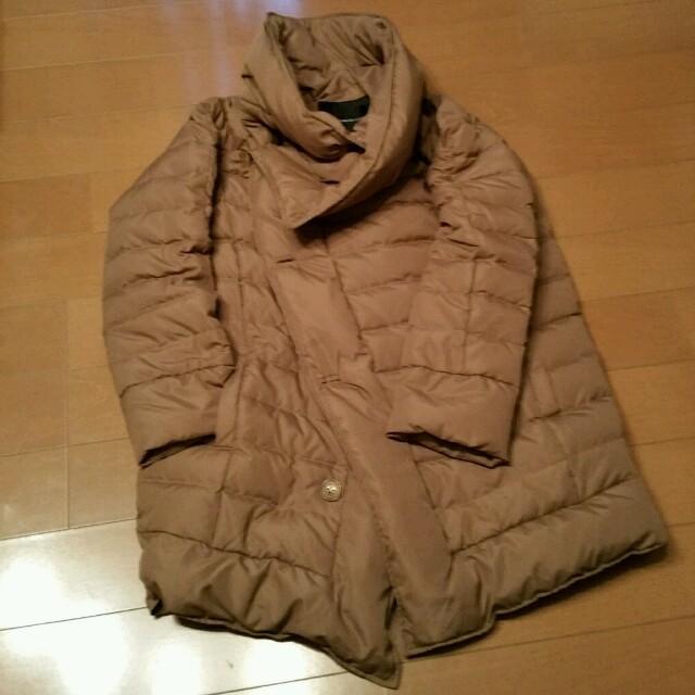 DOUBLE STANDARD CLOTHING(ダブルスタンダードクロージング)のお洒落なアシンメトリー ダウンコート レディースのジャケット/アウター(ダウンコート)の商品写真