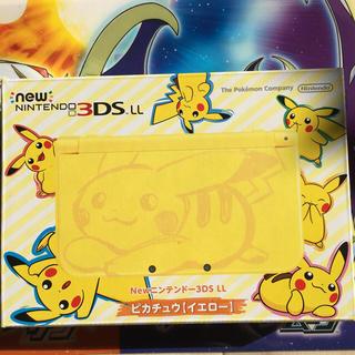 ニンテンドウ(任天堂)の【新品】Newニンテンドー3DS ピカチュウ【イエロー】 3DS LL  (携帯用ゲーム本体)