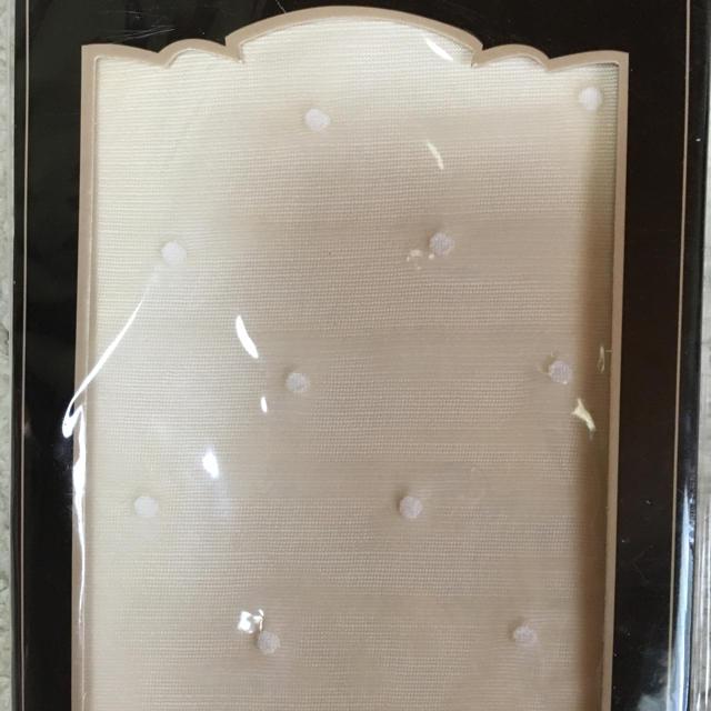 ホワイトドットタイツ レディースのレッグウェア(タイツ/ストッキング)の商品写真