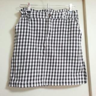 レイカズン(RayCassin)のギンガム タイトスカート(ひざ丈スカート)