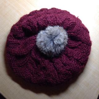 アースミュージックアンドエコロジー(earth music & ecology)のニットベレー帽 なち様取り置き〜14(ハンチング/ベレー帽)