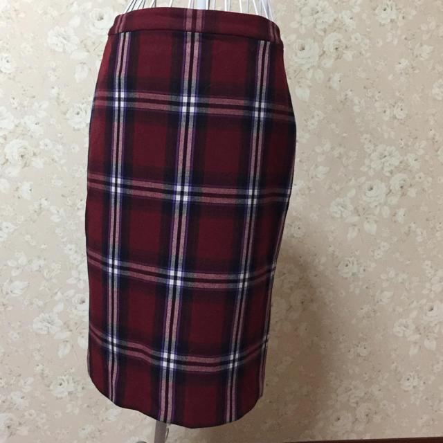 Rope' Picnic(ロペピクニック)のチェックタイトスカート レディースのスカート(ひざ丈スカート)の商品写真