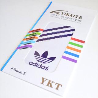 アディダス(adidas)のアディダスiPhone5/5Sフィルム(モバイルケース/カバー)