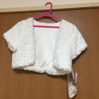 ccc5bbc530cc7 シマムラ(しまむら)のしまむら☆ファーノーカラーボレロ(ボレロ)