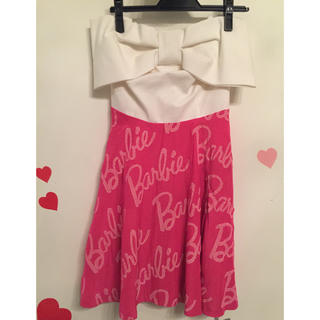 バービー(Barbie)のbarbie♡ミニドレス♡ワンピース(ミニワンピース)