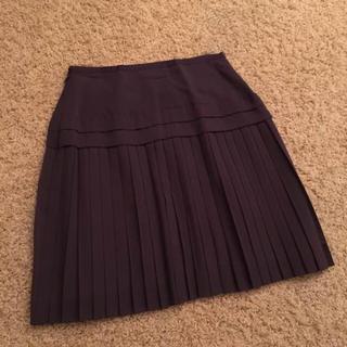 トゥモローランド(TOMORROWLAND)の美品 Tomorrowland ボールジー Ballsey プリーツスカート36(ひざ丈スカート)