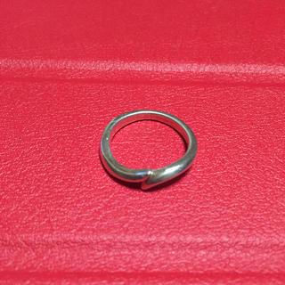 ヨンドシー(4℃)の4℃ピンキーリング 6号 silver シルバー(リング(指輪))