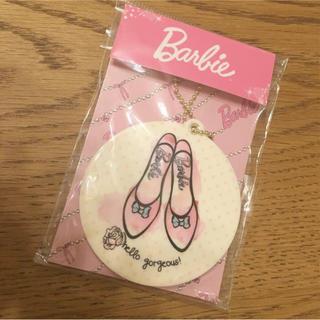 バービー(Barbie)のバービー パンプス柄 スライドミラー(その他)