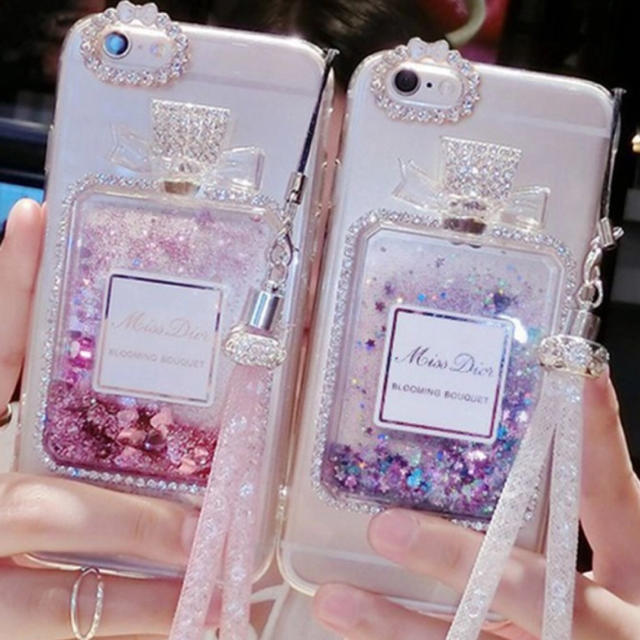 iphone7 ケース トレンド | フレグランスストラップケースの通販 by Lily's shop   ♡|ラクマ