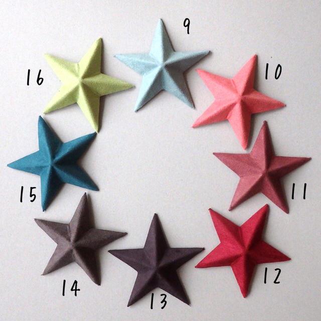 全16色☆ミニミニバーンスター ハンドメイドのインテリア/家具(インテリア雑貨)の商品写真