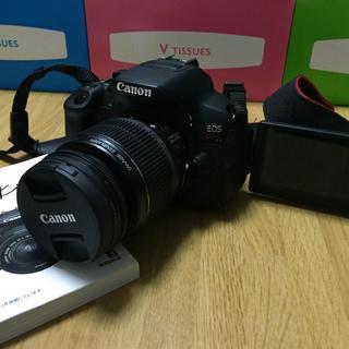 キヤノン(Canon)の値下げ 美品Canon x7i ボディ バッテリーグリップ.バッテリー3つ他多々(デジタル一眼)