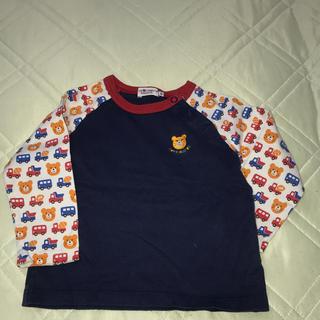 ミキハウス(mikihouse)の美品☆MIKIHOUSE 90cm ロンT(Tシャツ/カットソー)