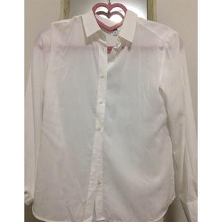 ユニクロ(UNIQLO)のユニクロ ホワイト シャツ(その他)