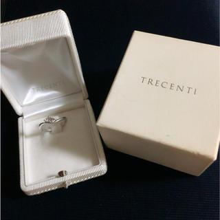 TRECENTI ダイヤ、ピンクトリマリンリング(リング(指輪))