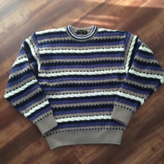 Rudolph Valentino(ルドルフヴァレンチノ)のnaru様専用です‼️  ルドルフバレンチノセーター メンズのトップス(ニット/セーター)の商品写真