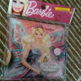 バービー(Barbie)の新品未使用! Barbie 折り財布 ♥(折り財布)