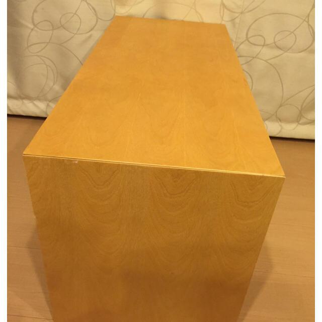 MUJI (無印良品)(ムジルシリョウヒン)の無印良品 コの字家具 インテリア/住まい/日用品の収納家具(棚/ラック/タンス)の商品写真