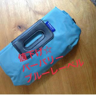 バーバリー(BURBERRY)の最終値下げ☆ブルーレーベルバッグ(ハンドバッグ)