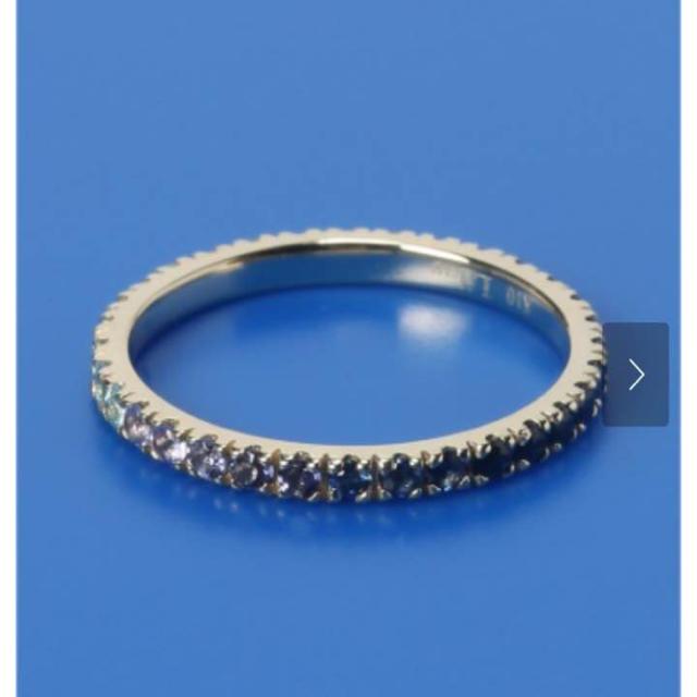 Spick and Span(スピックアンドスパン)のLilas TREND  スピックアンドスパン  k10 フルエタニティ リング レディースのアクセサリー(リング(指輪))の商品写真
