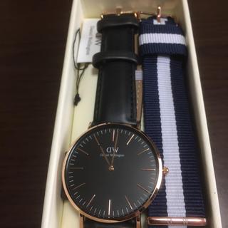 ダニエルウェリントン(Daniel Wellington)のダニエルウェリントン 40mm 交換ベルト付き(腕時計(アナログ))