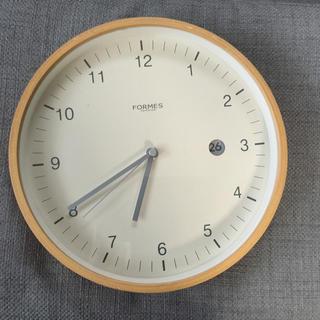 MUJI (無印良品) - アクタス購入☆FORMESの掛時計の通販 by れいんぼー's shop|ムジルシリョウヒンならラクマ