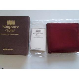 ホワイトハウスコックス(WHITEHOUSE COX)のホワイトハウスコックス × ユナイテッドアローズ 財布(折り財布)