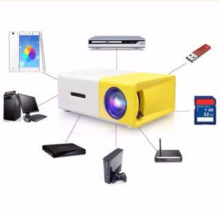 LEDプロジェクター 小型 おしゃれ ゲーム ホームシアター スライド映写機(プロジェクター)