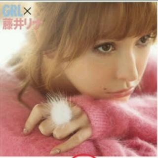 グレイル(GRL)の新品♡ファーリング♡藤井リナちゃん着用♡(リング(指輪))