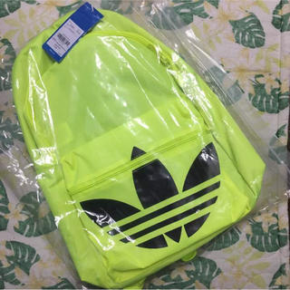 アディダス(adidas)の新品 リュック バックパック イエロー(リュック/バックパック)