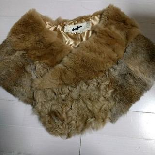 ファーファー(fur fur)の値下げ!furfurラビットファーストール★ファーファー(マフラー/ショール)
