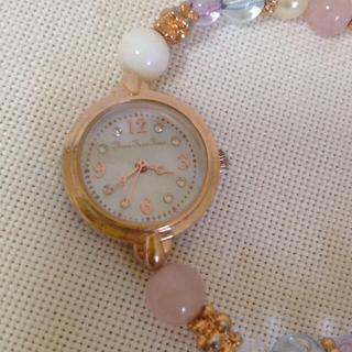 スリーフォータイム(ThreeFourTime)のビーズの時計(腕時計)