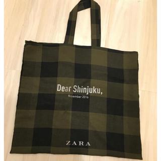 ザラ(ZARA)の【限定】ZARA エコバッグ ショッピングバッグ (エコバッグ)