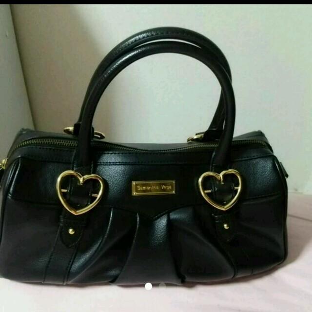 Samantha Vega(サマンサベガ)のサマンサベガ 黒bag レディースのバッグ(ハンドバッグ)の商品写真