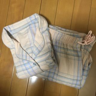 ジーユー(GU)のGU パジャマ ライトオレンジ S(パジャマ)