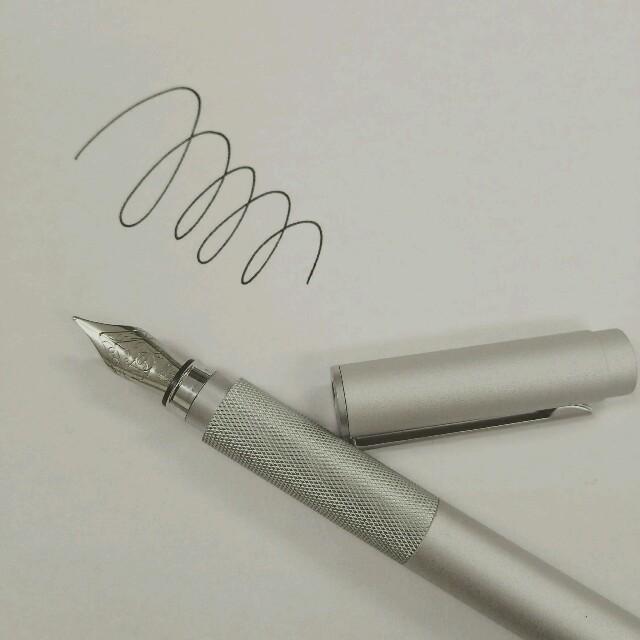 MUJI (無印良品)(ムジルシリョウヒン)の無印 万年筆 インテリア/住まい/日用品の文房具(ペン/マーカー)の商品写真