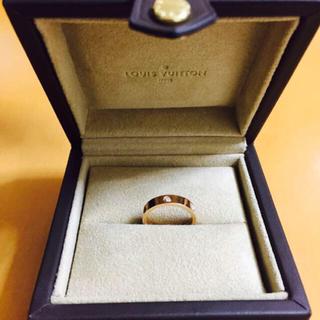LOUIS VUITTONの指輪♡ピンクゴールド(リング(指輪))