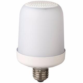 ムジルシリョウヒン(MUJI (無印良品))の新品未使用 無印良品 LED型Bluetoothスピーカー(蛍光灯/電球)
