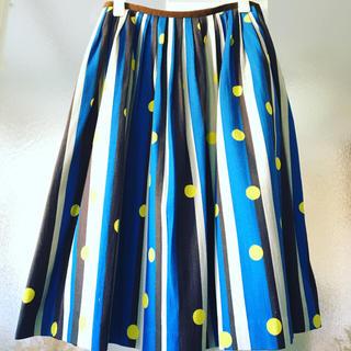 ミナペルホネン(mina perhonen)のmina perhonen ミナペルホネン festival スカート(ひざ丈スカート)
