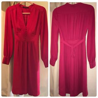 ビーシービージーマックスアズリア(BCBGMAXAZRIA)のお買い得!BCBG赤ドレス(その他ドレス)