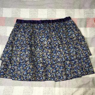 ローリーズファーム(LOWRYS FARM)の可愛い3段フリルミニスカート フリーサイズ(ミニスカート)