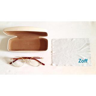 ゾフ(Zoff)の【めめ様ご予約商品】ゾフ・クラシック/ゴールド×べっ甲風(サングラス/メガネ)