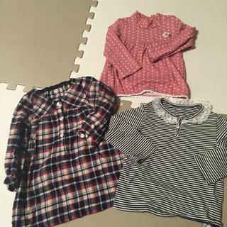ムジルシリョウヒン(MUJI (無印良品))のべあ様専用 90♡6点セット(Tシャツ/カットソー)