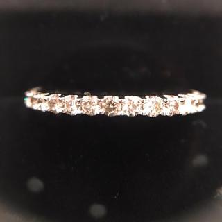 フル エタニティ ダイヤモンド リング✨K18ホワイトゴールド #12(リング(指輪))