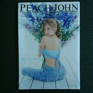 ピーチジョン(PEACH JOHN)のPJ 2014 夏 カタログ ローラ 小嶋陽菜 筧美和子 他(ファッション)