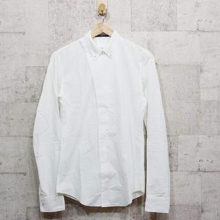 ユリウス(JULIUS)のJULIUS/ユリウス 斜め留め 変形シャツ ホワイト size 1(シャツ)