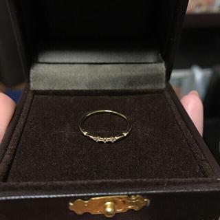 エテ(ete)のラスト売値 ete レイヤードダイヤモンドリング 11号(リング(指輪))