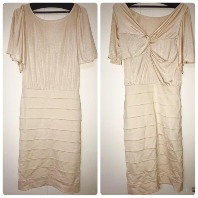 DURAS(デュラス)のdurasバックコンシャスドレス レディースのフォーマル/ドレス(ミディアムドレス)の商品写真